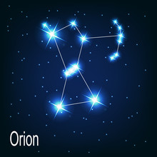 """The Constellation """"Orion"""" Star..."""