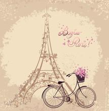 Romantic Postcard From Paris. ...