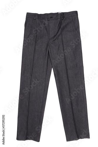 Men gray pants
