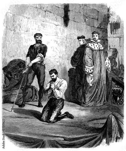 Fényképezés  Execution - 16th century