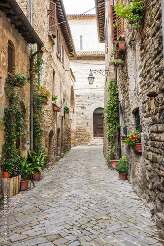 Fototapeta Romantyczna włoska uliczka na wymiar