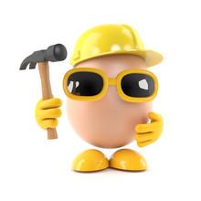 Egg Builder With Hammer