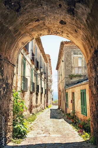 Fototapeta A picturesque corner in Tuscany, Italy