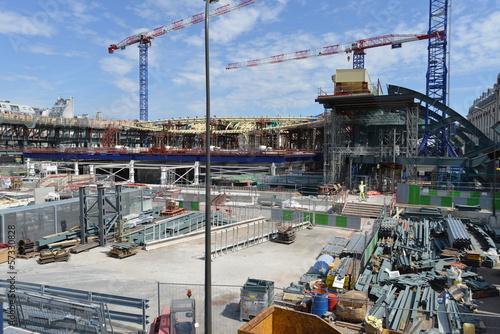 Foto op Plexiglas Building site