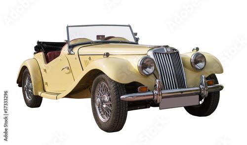 Photo sur Aluminium Vintage voitures uralter Oldtimer, Classic Car