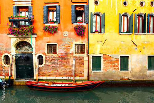 Poster Venise Canal in Venice