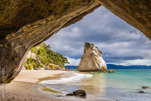 Foto op Plexiglas Cathedral Cove Cathedral Cove
