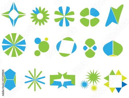 Fototapeta logos elements obraz