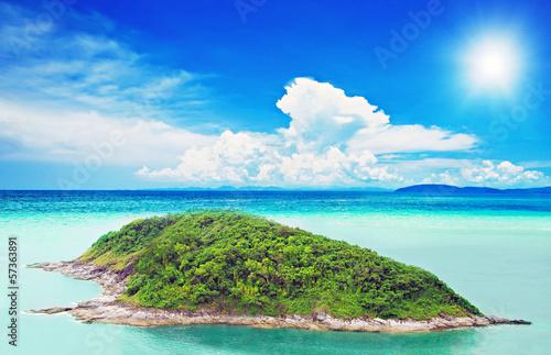 Fototapety, obrazy: Tropical island