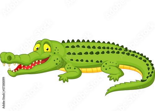 Fotografie, Obraz  Crocodile cartoon