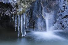 Small Frozen Waterfall