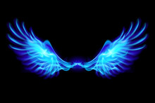 Blue Fire Wings.