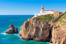 Lighthouse Of Cabo Sao Vicente, Sagres, Portugal