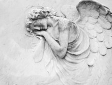Sleeping Angel - Antique Decor...