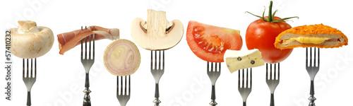 Poster Légumes frais jedzenie