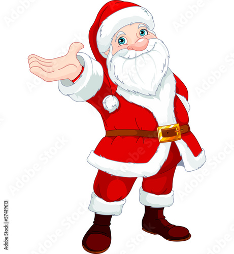 Poster Magie Santa Clause Presents