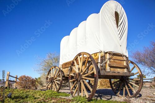 Fotografía  Planwagen in USA
