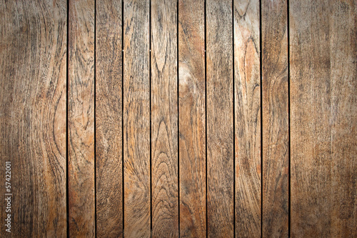 Photo Fond planches en bois verticales