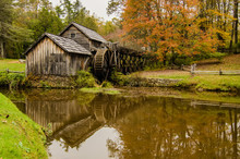 Virginia's Mabry Mill On The B...