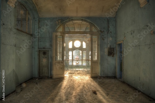 Abandoned hospital in beelitz