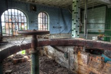 Old Abandoned Brewery In Germany