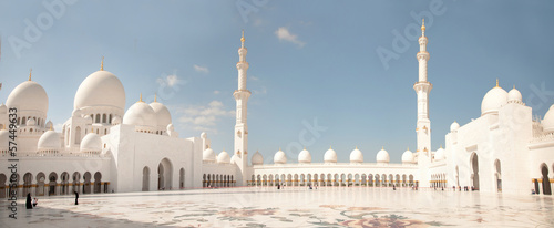 Recess Fitting Dubai Abu Dhabi White Sheikh Zayed Mosque