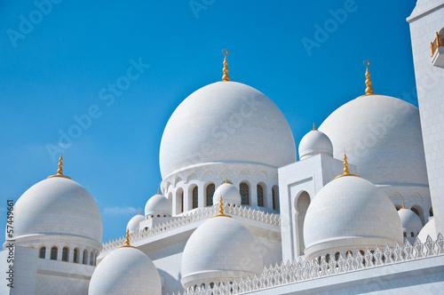 Fotografie, Obraz  Abu Dhabi White Sheikh Zayed Mosque