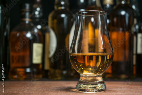 whisky tasting Canvas Print