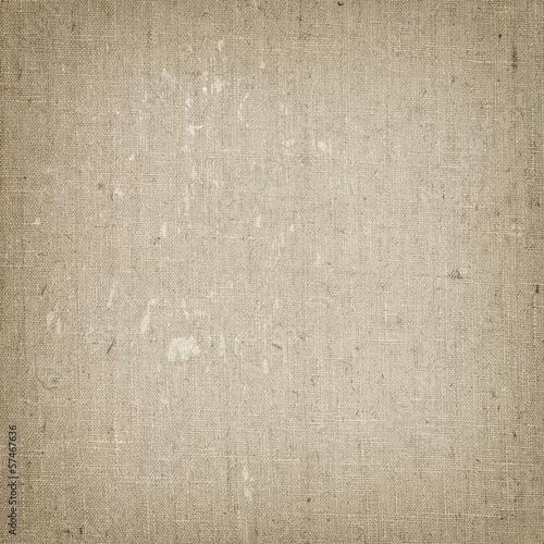 Fotobehang Stof Linen canvas texture background