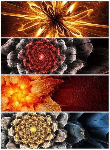 cztery-abstrakcyjne-sztandary-kwiatowe