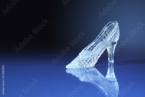 Stampa su Tela Glass Slipper
