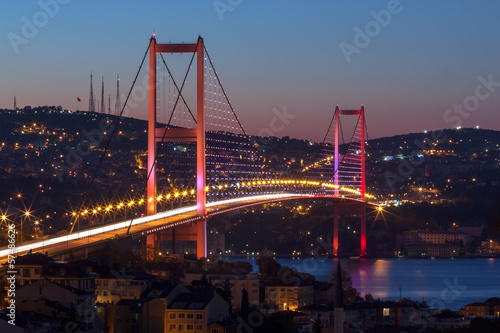 Photo  Bosphorus Bridge, Istanbul