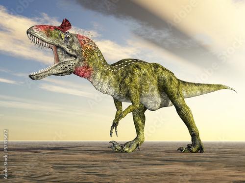 Photo  Dinosaurier Cryolophosaurus