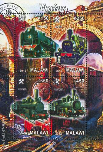 Steam locomotive © rook76