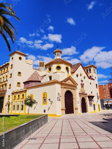 Tuinposter Mexico Church in Malaga, Spain
