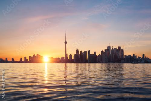 Foto auf Acrylglas Toronto Toronto skyline, Canada