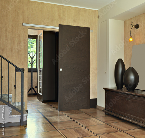 Fotografía  ingresso con mobili antichi