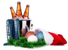Beer And Christmas Decor