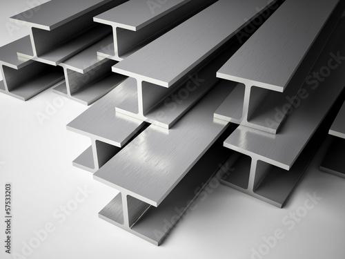 Fotomural Structural steel