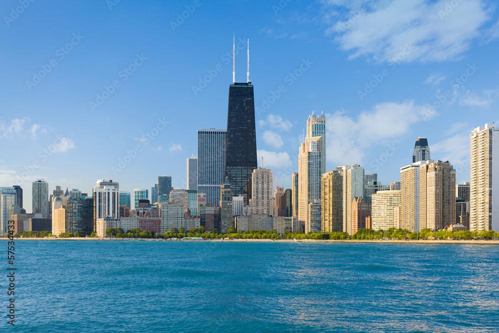 Fototapeta Cityscape of Chicago