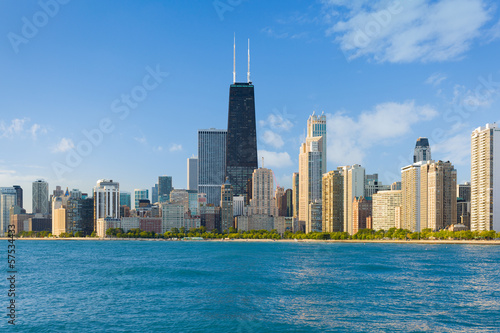 Keuken foto achterwand Chicago Cityscape of Chicago