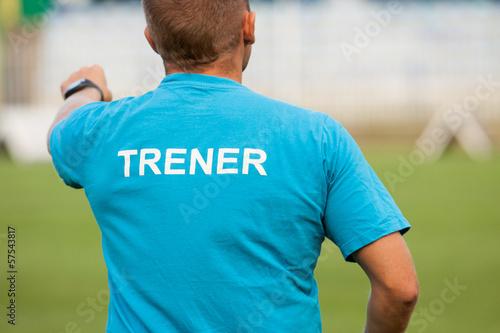 Obraz Trener - fototapety do salonu
