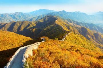 Panel Szklany Orientalny Great Wall of China