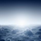 Mglisty wschód słońca - 57553019