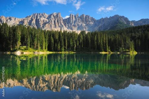Fotografía  Lago di Carezza Cime Latemar