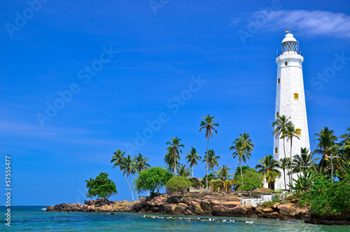 Photo Stands Lighthouse Beautiful Lighthouse and beach
