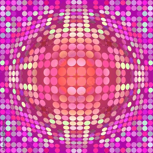 Fotografie, Obraz  Distorted circles