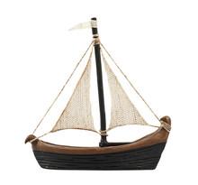 Sailboat Statuette Figure Isolated