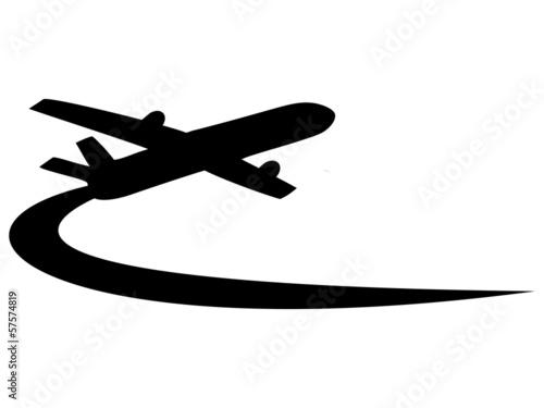 Fényképezés  Airplane symbol design