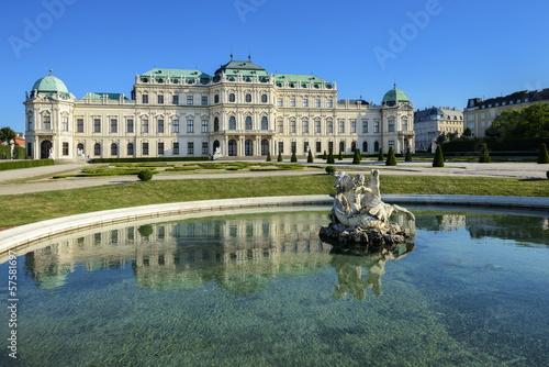 La pose en embrasure Vienne Schloss Belvedere - Wien